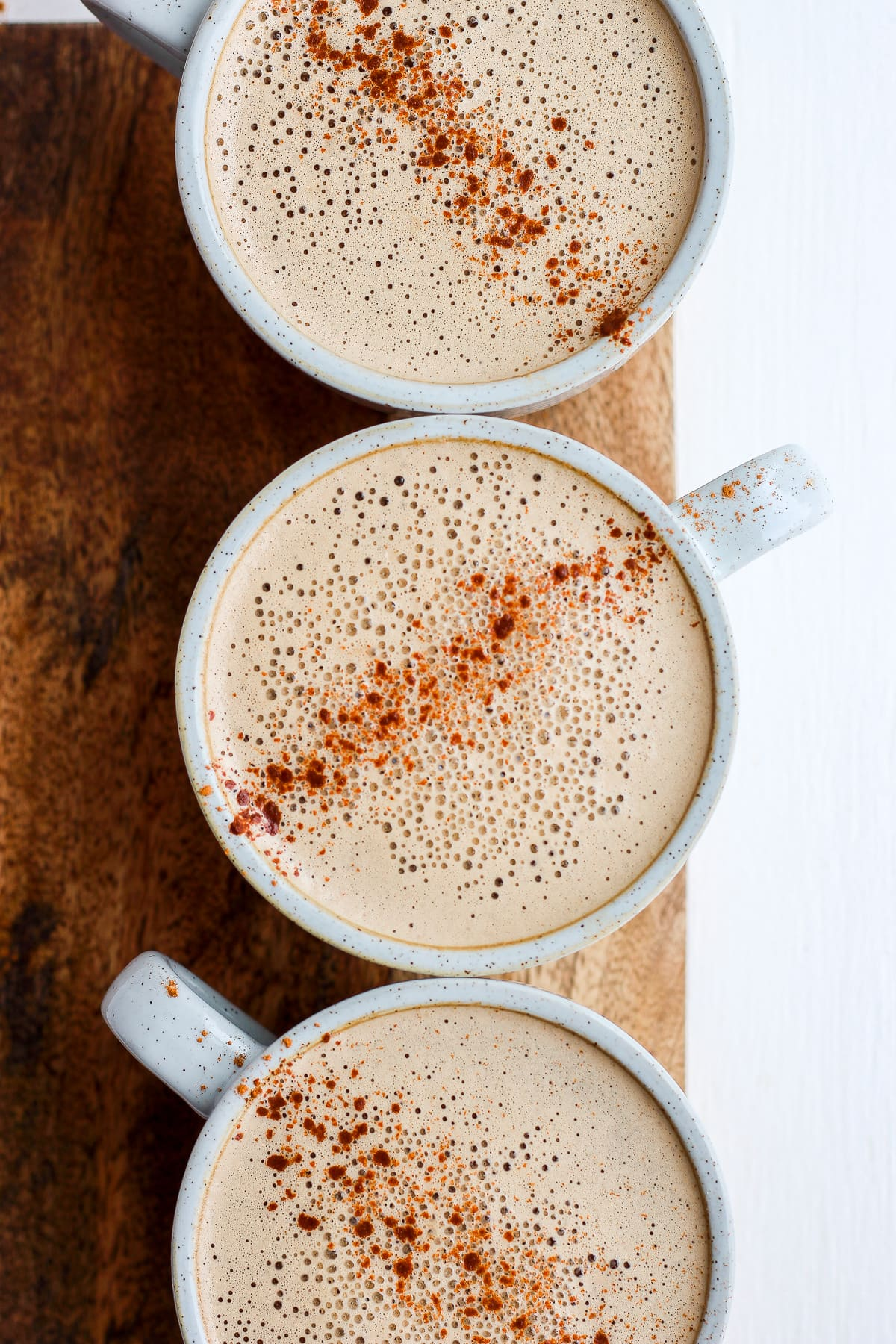 Creamy Cinnamon Cold Brew Cashew Latte - the perfect cup of HOT cold brew with cashew creamer! #whole30 #paleo #coldbrew