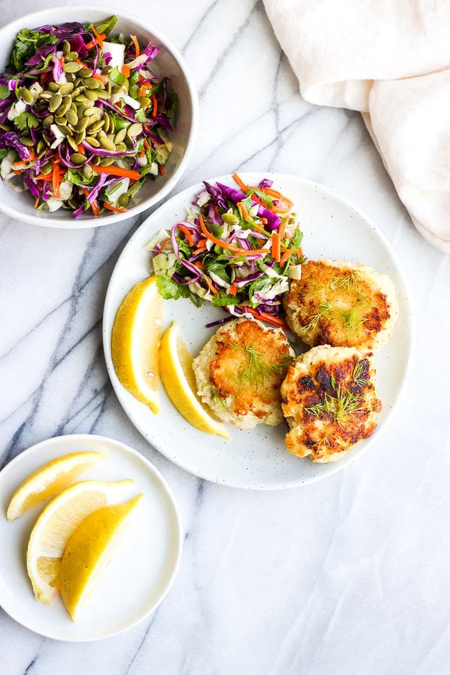 Butter Pan Seared Cod Cakes