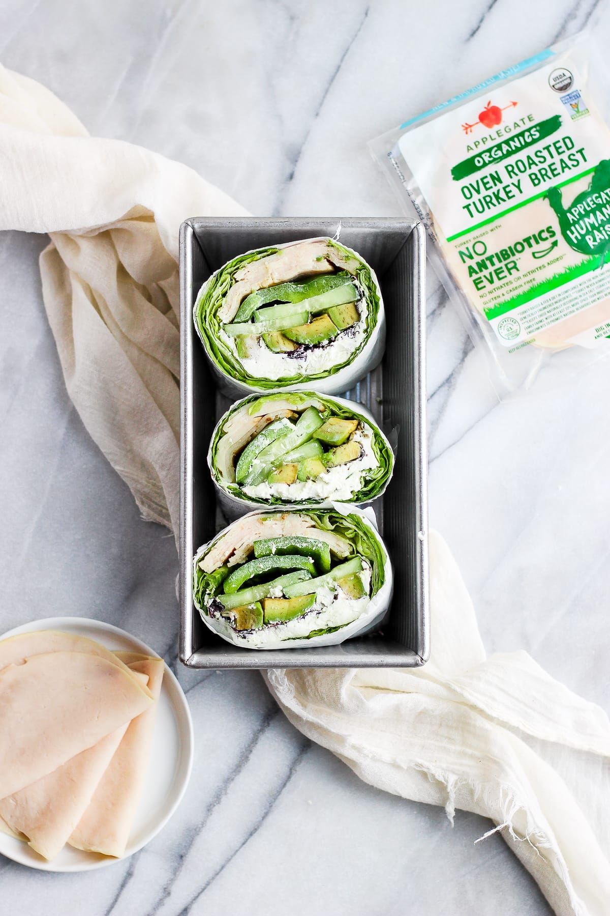 Herby Green Monster Lettuce Wrap - a quick, easy and delicious lunch or dinner option! #easyweeknight, #whole30 #lettucewrap