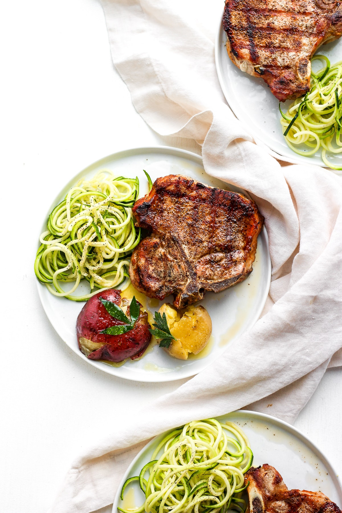 simple weeknight sumac pork chops4  the wooden skillet