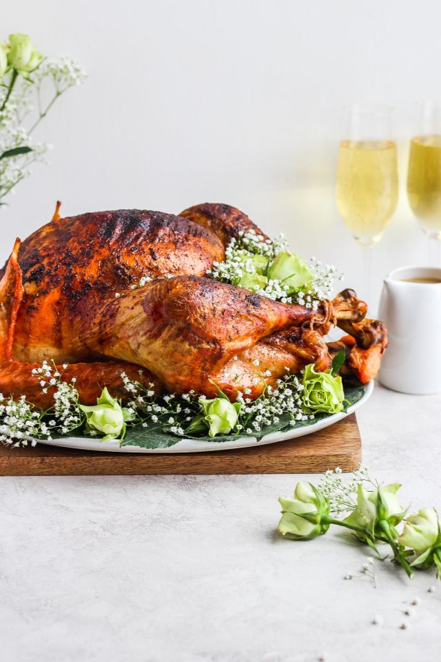 Butter and Sage Roasted Turkey