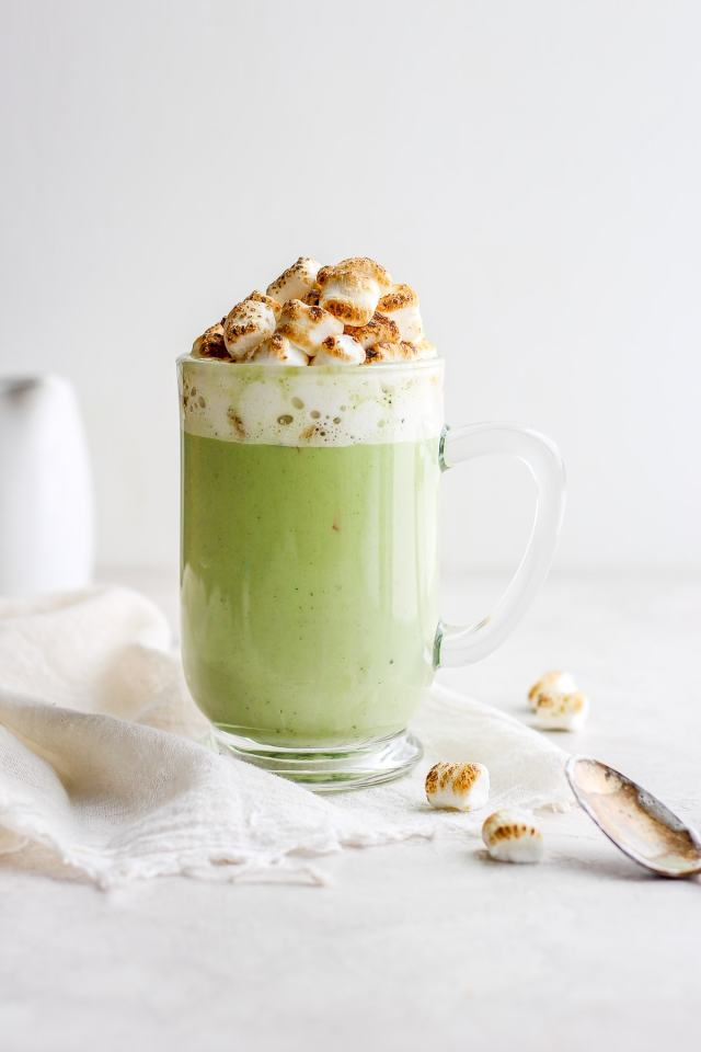 Dairy-Free Matcha White Hot Chocolate
