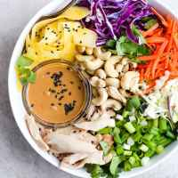 20 Minute Asian Chopped Rotisserie Chicken Salad