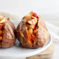 Make Ahead Breakfast Stuffed Sweet Potatoes (Whole30 + Paleo)