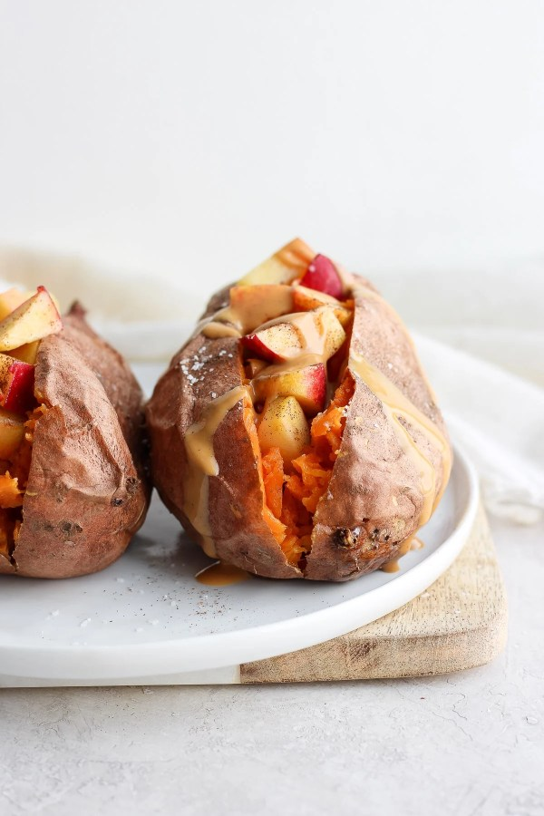 Make Ahead Breakfast Stuffed Sweet Potatoes
