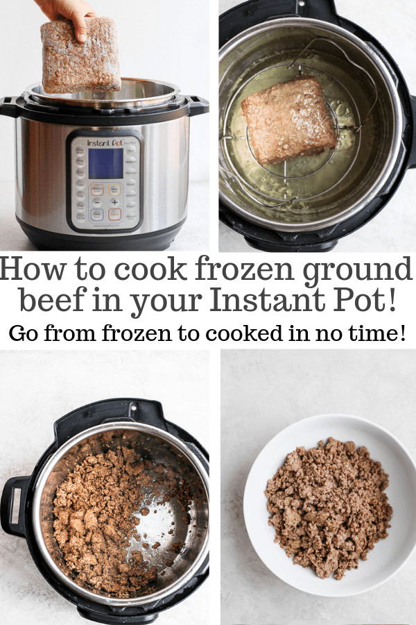 Instant Pot Ground Beef