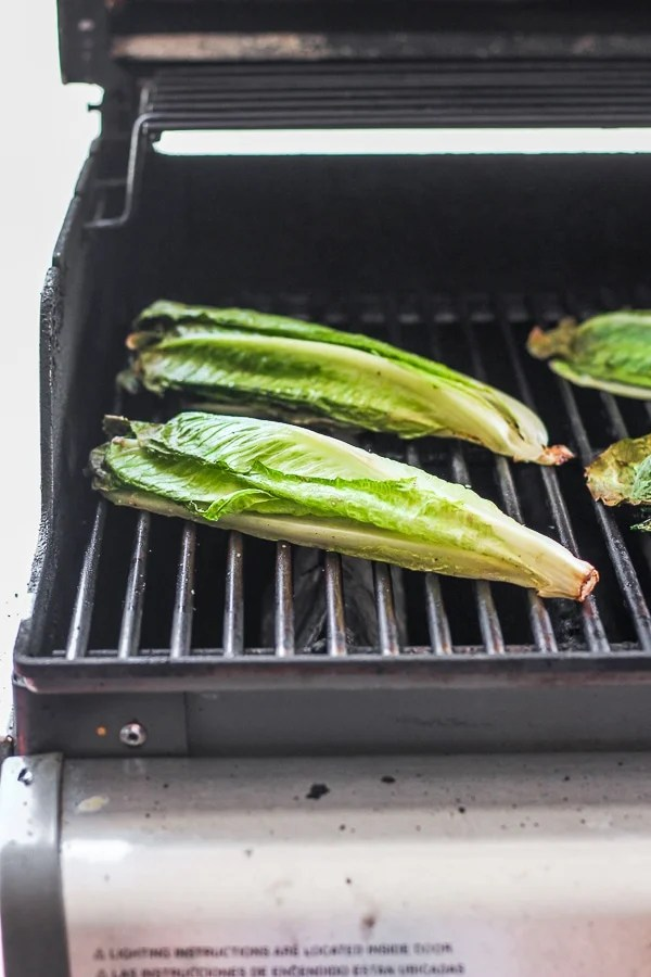 grilled romaine