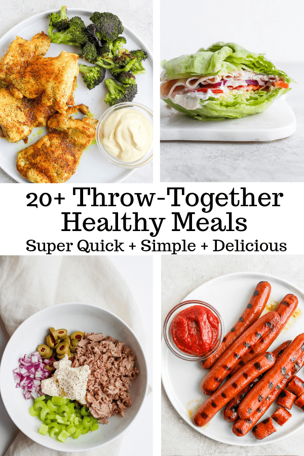 20 Quick And Healthy Meals Whole30 Paleo The Wooden Skillet