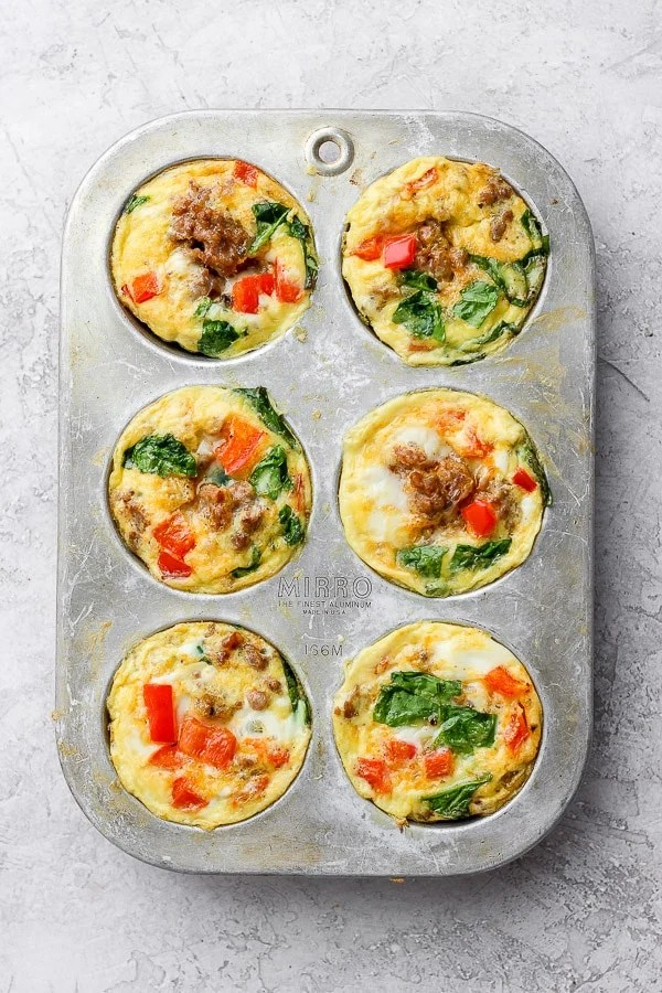 baked egg cup recipe