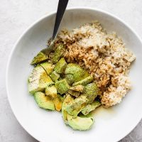 Avocado + Brown Rice Bowl