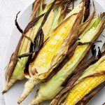 Grilled Corn on the Cob in Husks