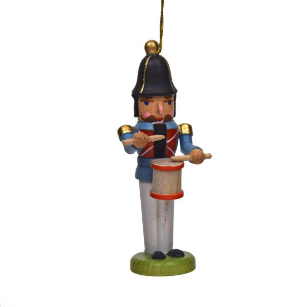 Miniature Nuter Drummer Hanging Ornament