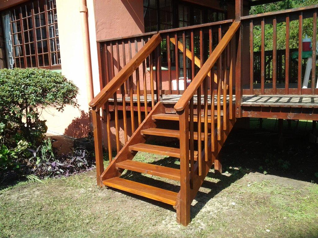 Timber Stairs Built in Hillcrest - February 2013 | The ... on Backyard Patio Steps  id=92837