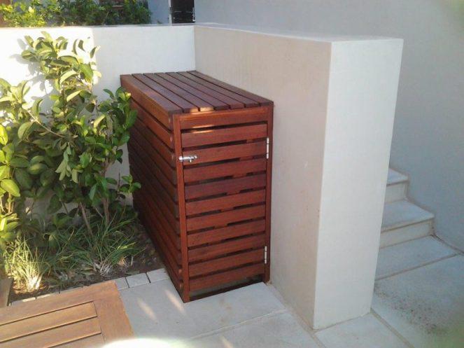Balau or timber screening