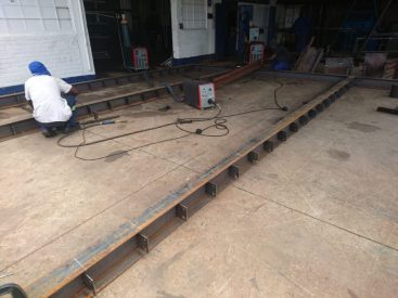 Steel And Timber Pergola, December 2015 8