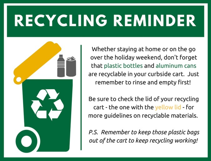 Recycling Reminder