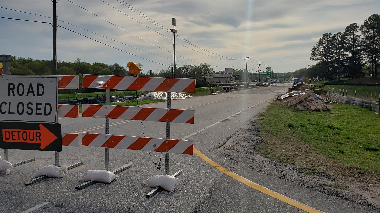 Construction started on Walnut Grove Bridge
