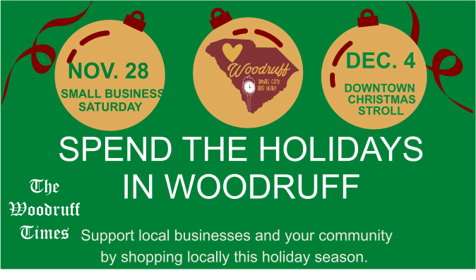 Holiday Shopping in Woodruff