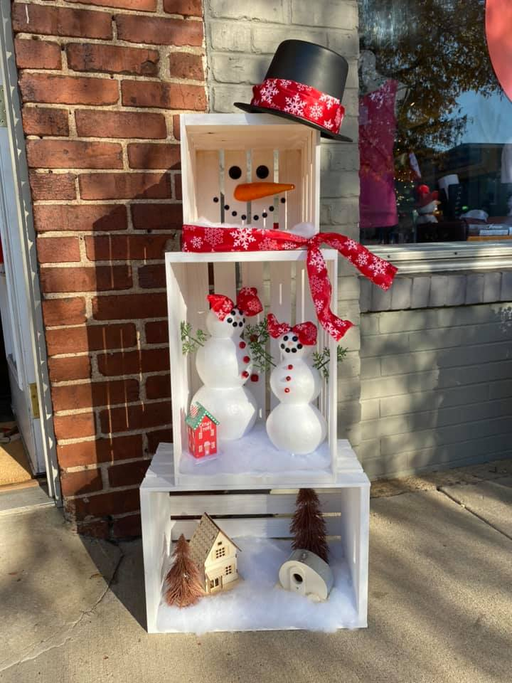 City of Woodruff's 2020 Snowman Contest Winners