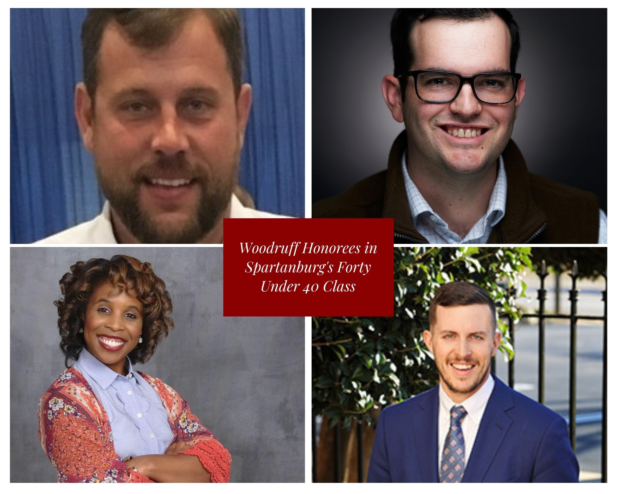 Woodruff Young Professionals Honored in Spartanburg's Inaugural Forty Under 40 Class