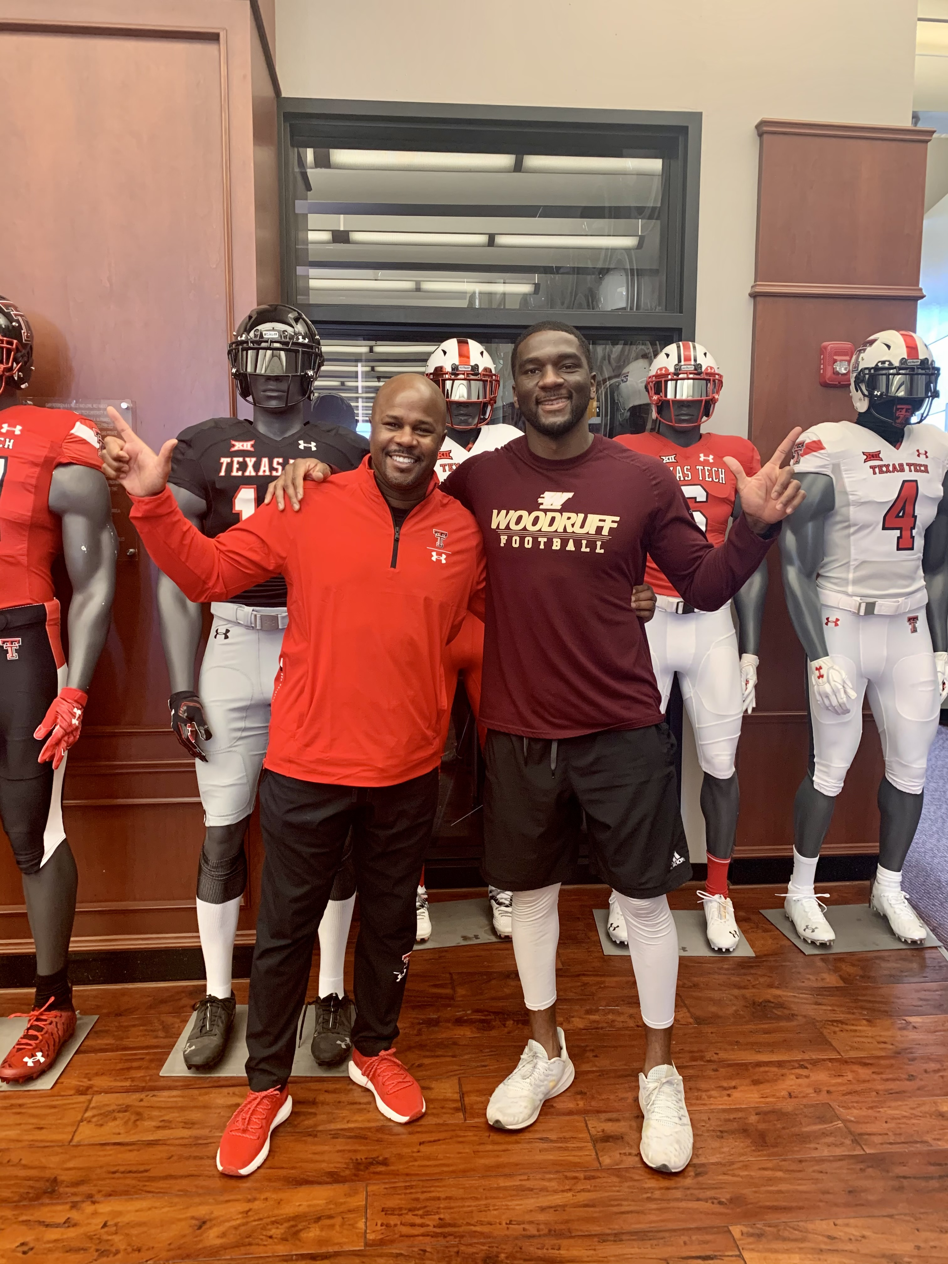 Jones and Johnson Unite at Texas Tech