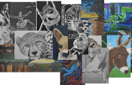 Woodruff Middle School Student Art Featured at Chapman Cultural Center