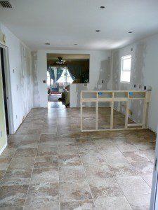 Tiled cottage kitchen