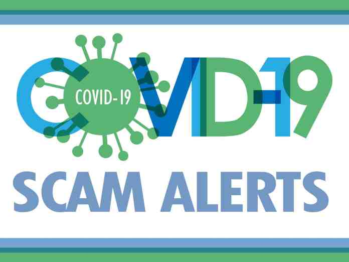 COVID-19 Related Scams Have Been Reported In Different States According To Federal Regulators