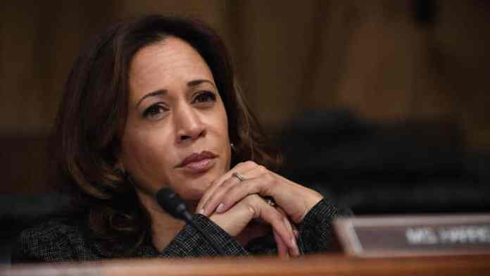 Kamala Harris In The Spot For Navigating Her New Job