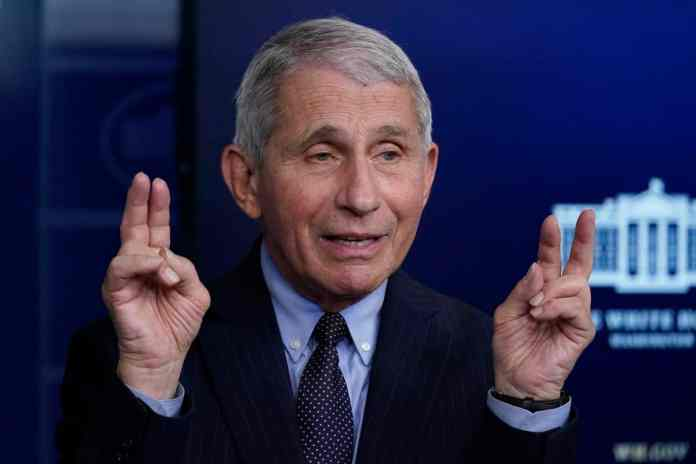 """Take That Second Dose"", Urges Fauci To Fellow Americans"