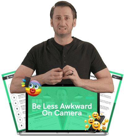 How To Not Be Awkward On Camera