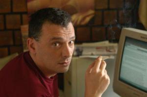 Serbian writer Dejan Anastasijevic found a safe haven in Brussels