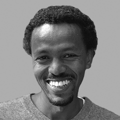 Ethiopian journalist Girma Fantaye found a safe haven in Ljubljana