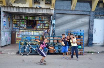 Quartier ouvrier Hay Mohammadi. Casablanca, Morocco. ©Ana Amigo