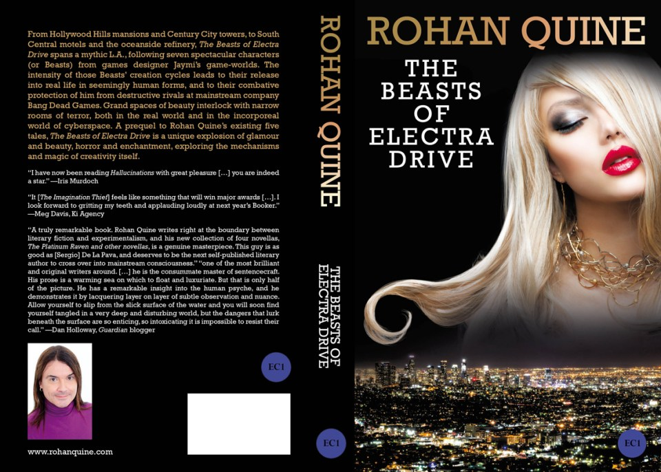 Rohan Quine incorporates magical realism, science fiction, and horror in The Beasts of Electra Drive, a literary prequel to a series of novels and novellas set in a shared universe.