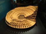 The LEGO version of the Roman Colosseum was truly impressive!