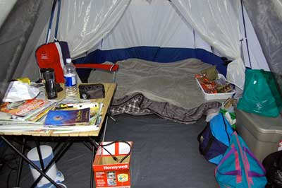 Not shown in these photos is that the tent has a cool built-in light in the ceiling that is attached to an 8-D cell power pack that also comes with au2026 & The Taj Mahal Of Tents - The Word Of JeffThe Word Of Jeff