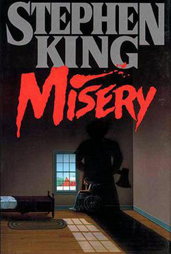 Cover of Misery by Stephen King