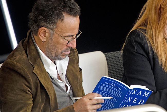 Bruce Springsteen reading Examined Loves