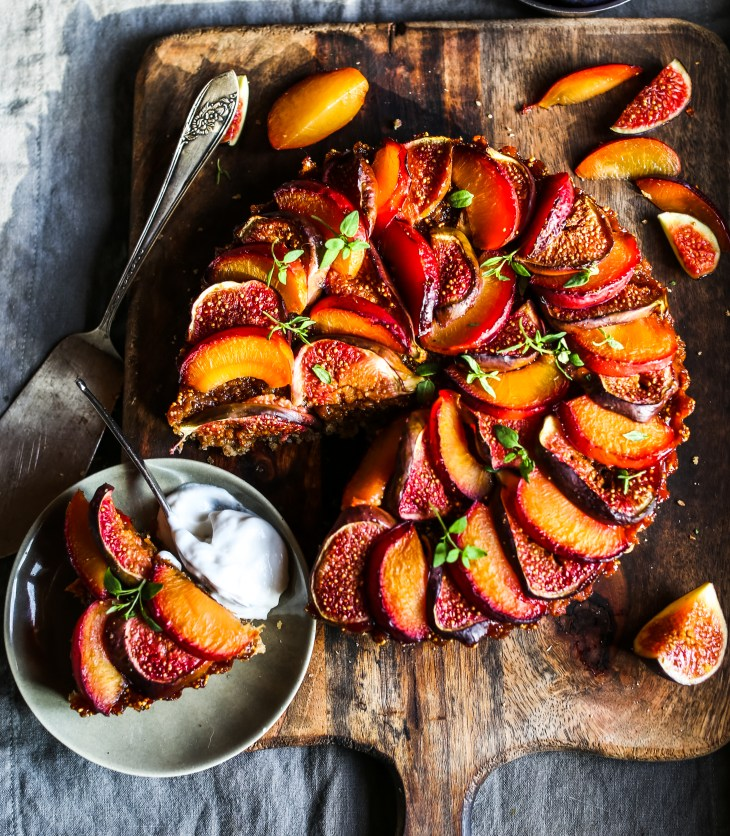 Rebel Recipes' Plum, Fig & Almond Cake