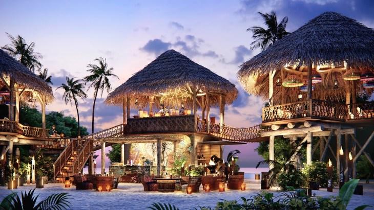 JW Marriott Maldives - Kaashi _ Rum Baan Render