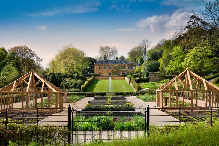 4. A Kitchen Garden view