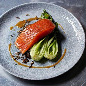 Pomona's - Hot smoked salmon, miso, Steven Joyce_preview