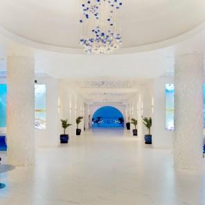 The lobby at CuisinArt Golf Resort & Spa, Anguilla