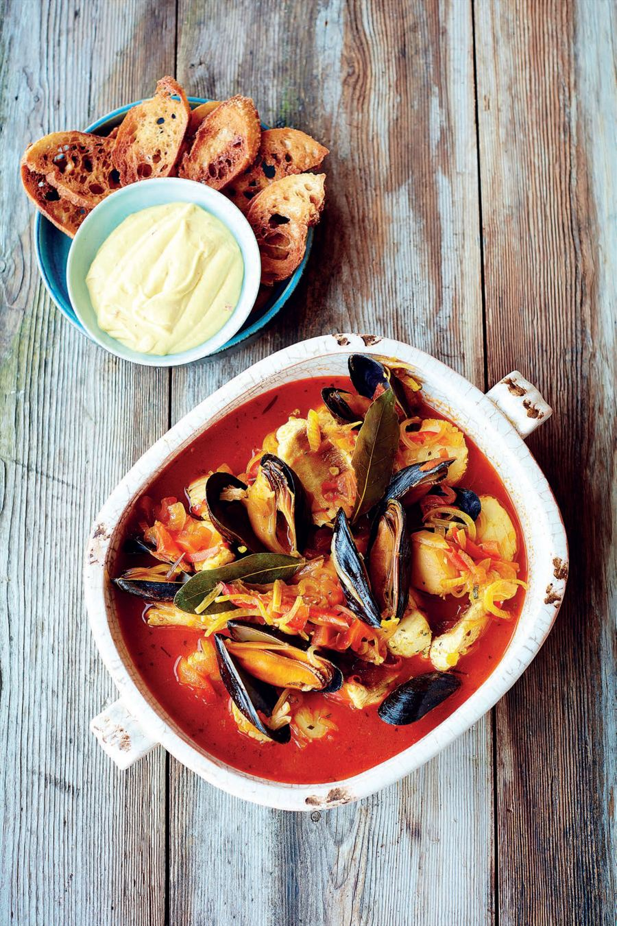 Nathan Outlaw's Fish Stew