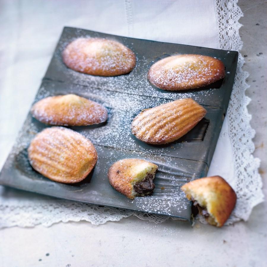 madeleines pâte à tartiner [Valéry Guédès©]