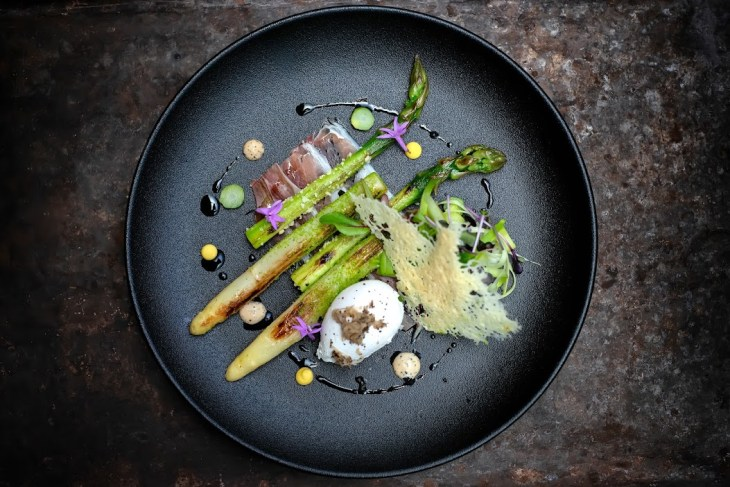 Conrad London St. James - Vintage Menu- English Asparagus 2
