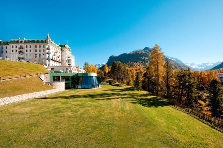 Grand Hotel Kronenhof - autumn