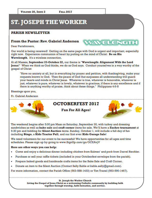 Fall 2017 Newsletter