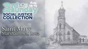 3rd Sunday Collection for St. Mary in Marshalltown